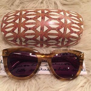 Stella & Dot Blonde Miramar Sunglasses